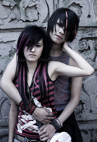 Emo Couple Love Wallpapers Emo Love Wallpapers Couple Love