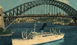 «Πατρίς»: Το υπερωκεάνιο που έφερε χιλιάδες Έλληνες στην Αυστραλία