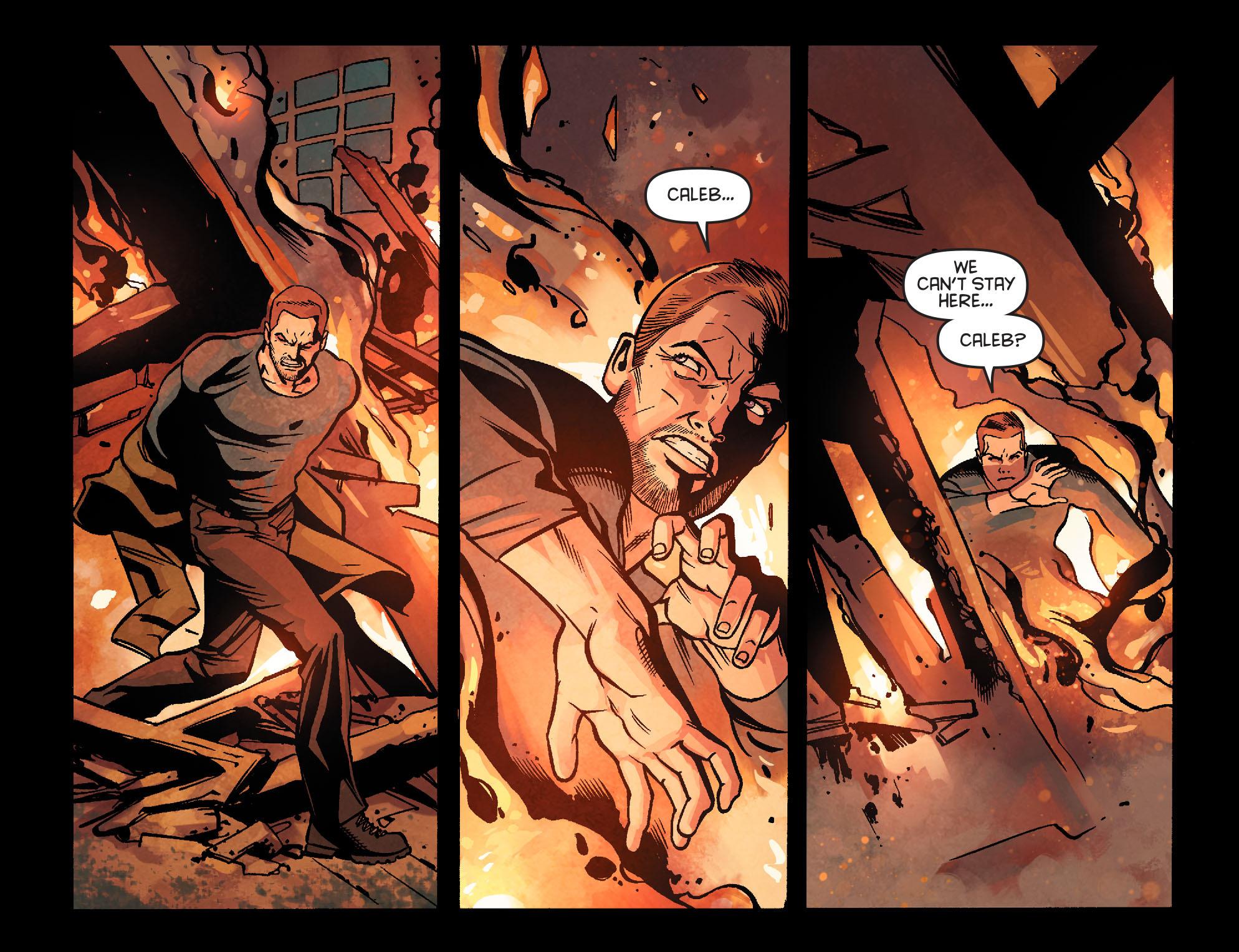 Read online Arrow: Season 2.5 [I] comic -  Issue #22 - 11
