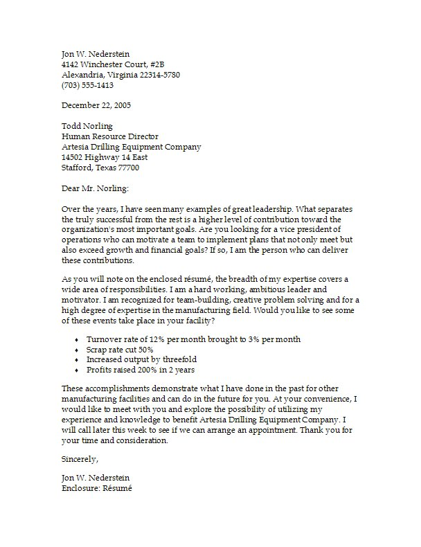Cover letter review of scientific instruments – Sample Cover Letter Format Example