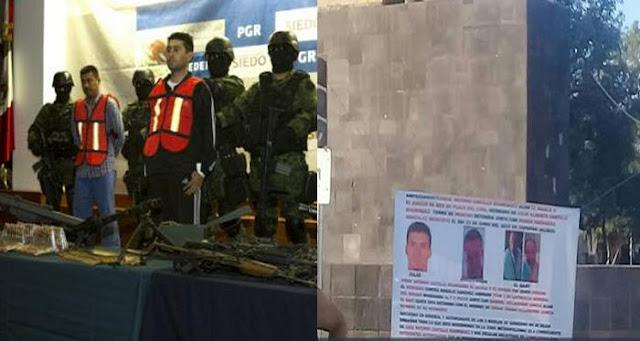 """GDL; En narcomantas señalan que jueces corruptos operaron para """"El Mencho"""" para la liberar a """"El 85"""""""