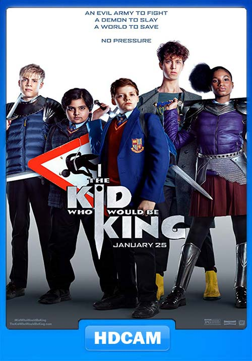 The Kid Who Would Be King 2019 HDCAM x264 | 480p 300MB | 100MB HEVC