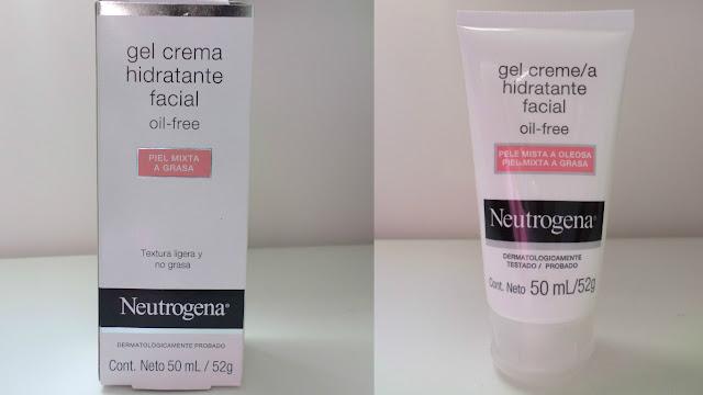 Resenha: Gel Creme Hidratante Facial Neutrogena