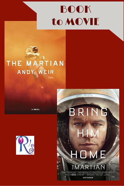 Book to Movie THE MARTIAN discussion The 3 Rs Blog