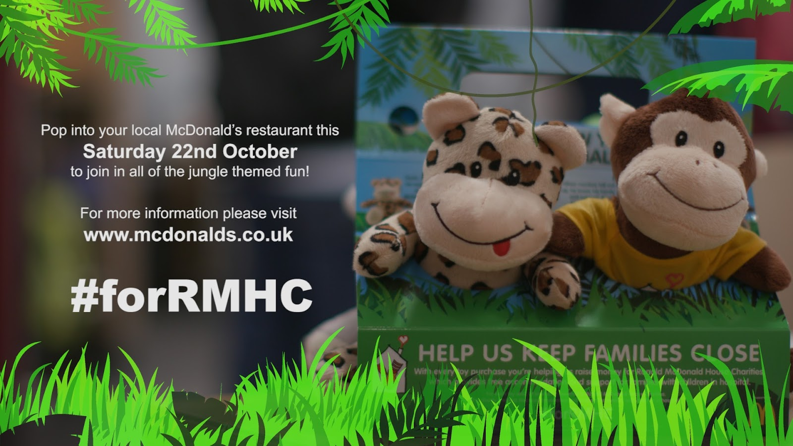 , Help Provide Home from Home Accommodation to Families with Children in Hospital with McDonald's UK