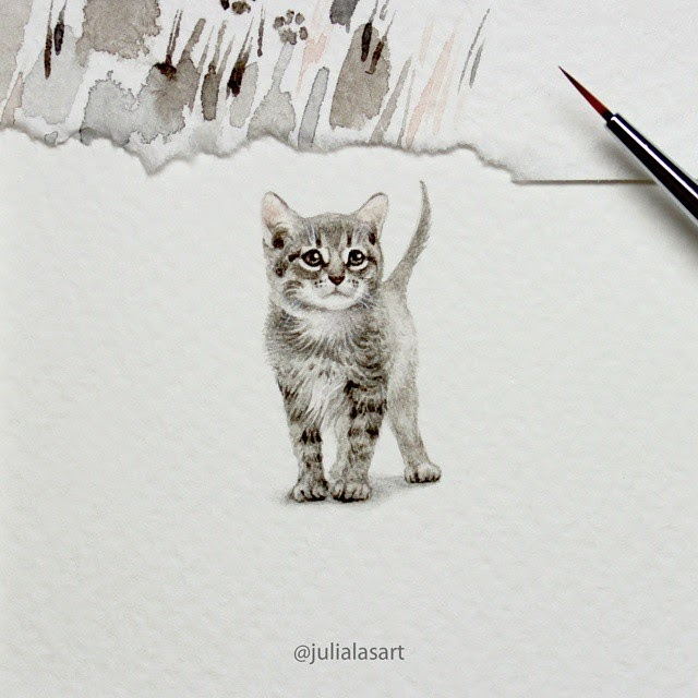 03-Little-Kitten-Julia-Las-Miniature-3-cm-Paintings-of-Wild-Animals-www-designstack-co