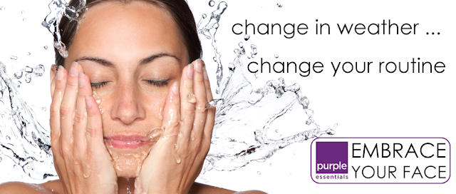 Change in the weather means a change to routine ... Embrace Your Face!