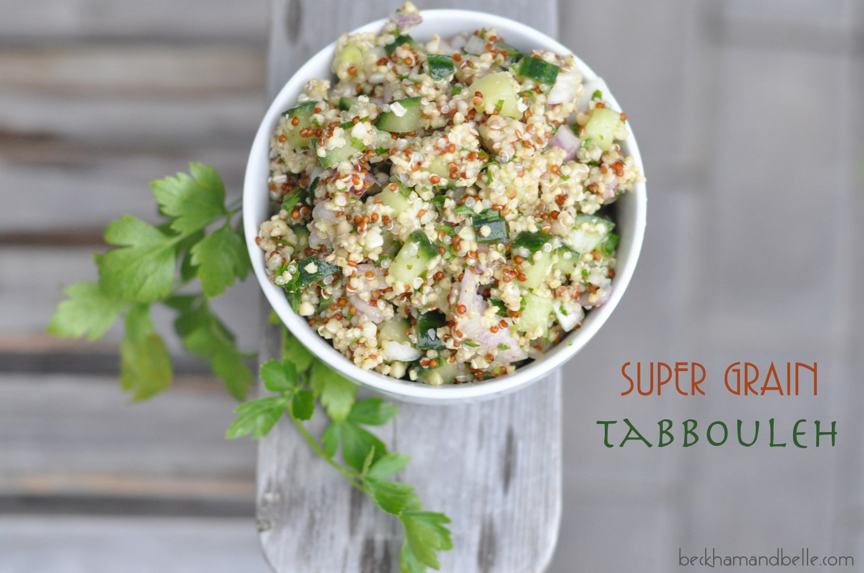 Super Grain Quinoa Tabbouleh