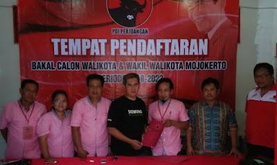 Tiga Pendaftar Calon Wakil Walikota PDI Perjuangan Mundur