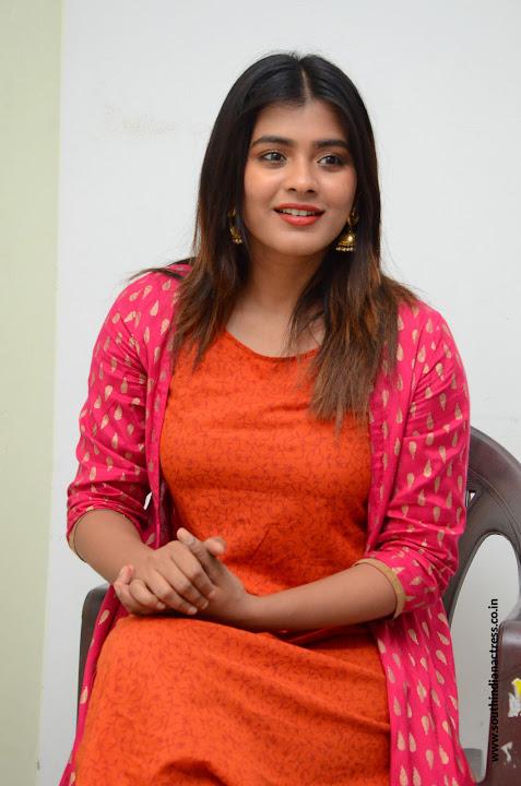 Hebah Patel at Angel movie Interview