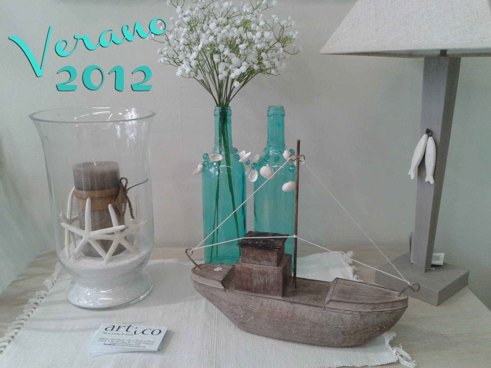 Disenyoss decoracion decoracion con conchas - Cenefas para espejos ...