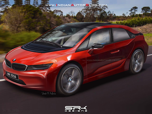 BMW i5 Rendered Expertly Thanks To The Leaked Patent Images