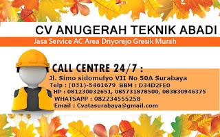 Jasa Service AC Area Driyorejo Gresik Murah