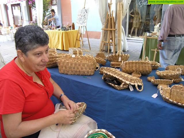 Santa Cruz de La Palma organiza una Feria de Artesanía coincidiendo con la temporada de cruceros