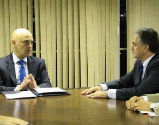 Cartaxo discute avanço na Guarda Municipal João Pessoa (PB) com ministro da Justiça
