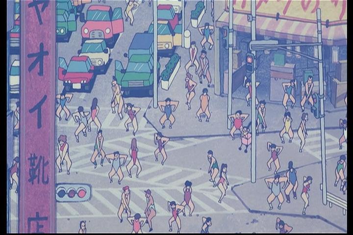 しんちゃん vs 魔王 アクション ハイグレ 仮面 クレヨン