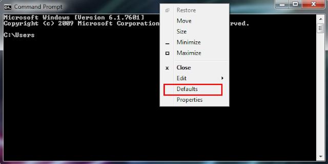 Cara Mengganti Warna Font dan Background CMD