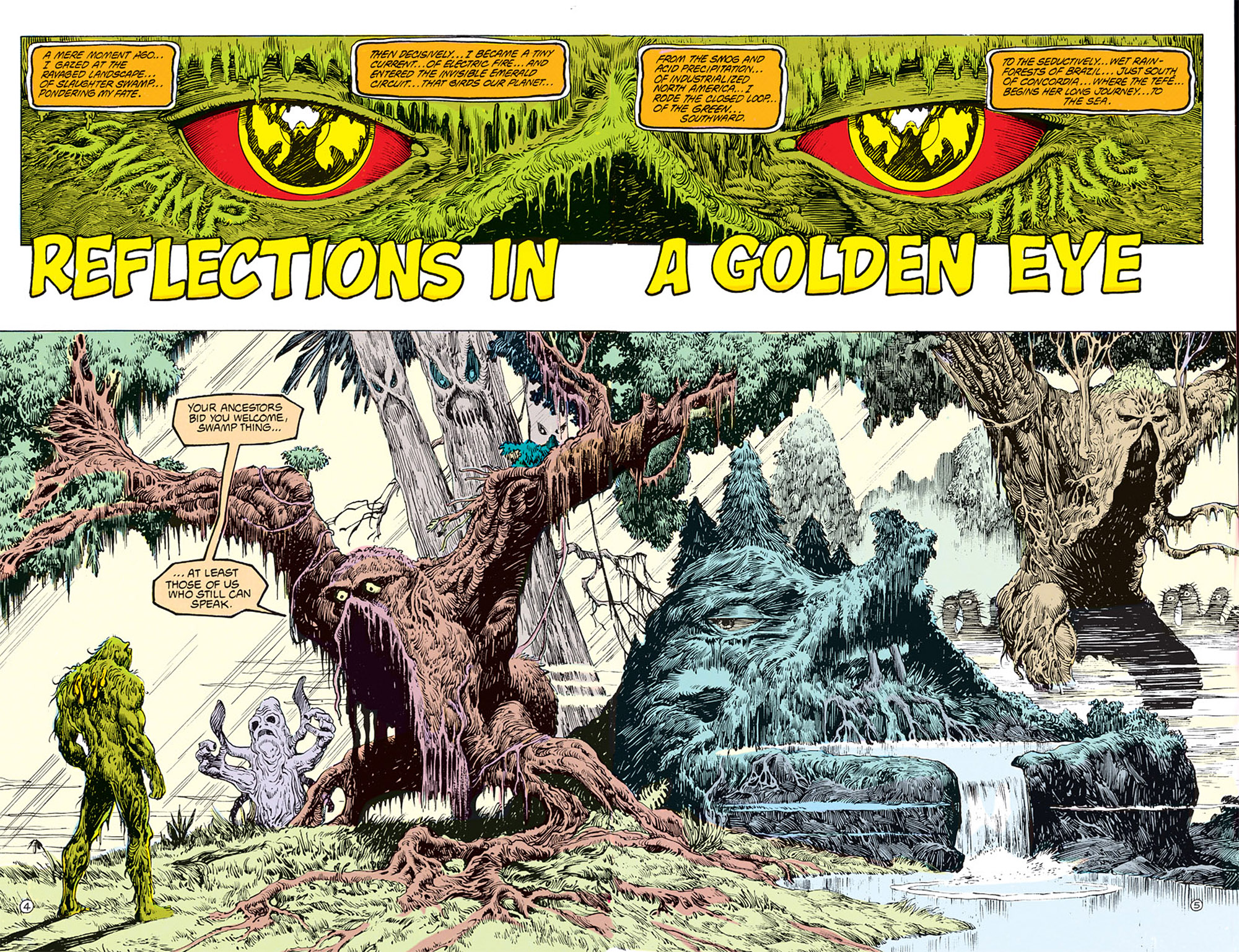 Swamp Thing (1982) Issue #68 #76 - English 5
