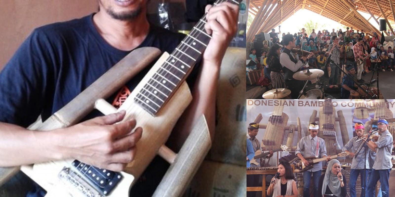 Gitar Bambu Bandung produk IBC