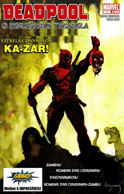 [HQ] Deadpool O Mercenário Tagarela #1