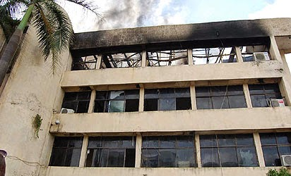 Mysterious fire guts NFF secretariat