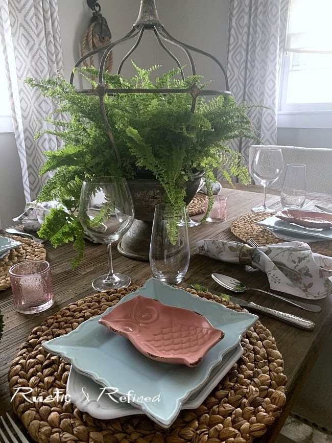 Farmhouse Tablescape for everyday