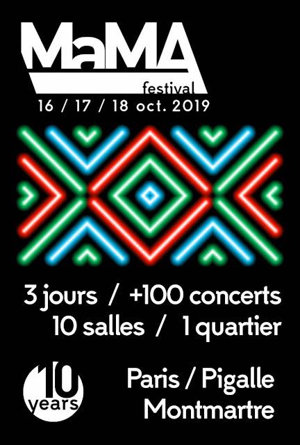 6 performances live au cours du deuxième jour du MaMA Festival 2019