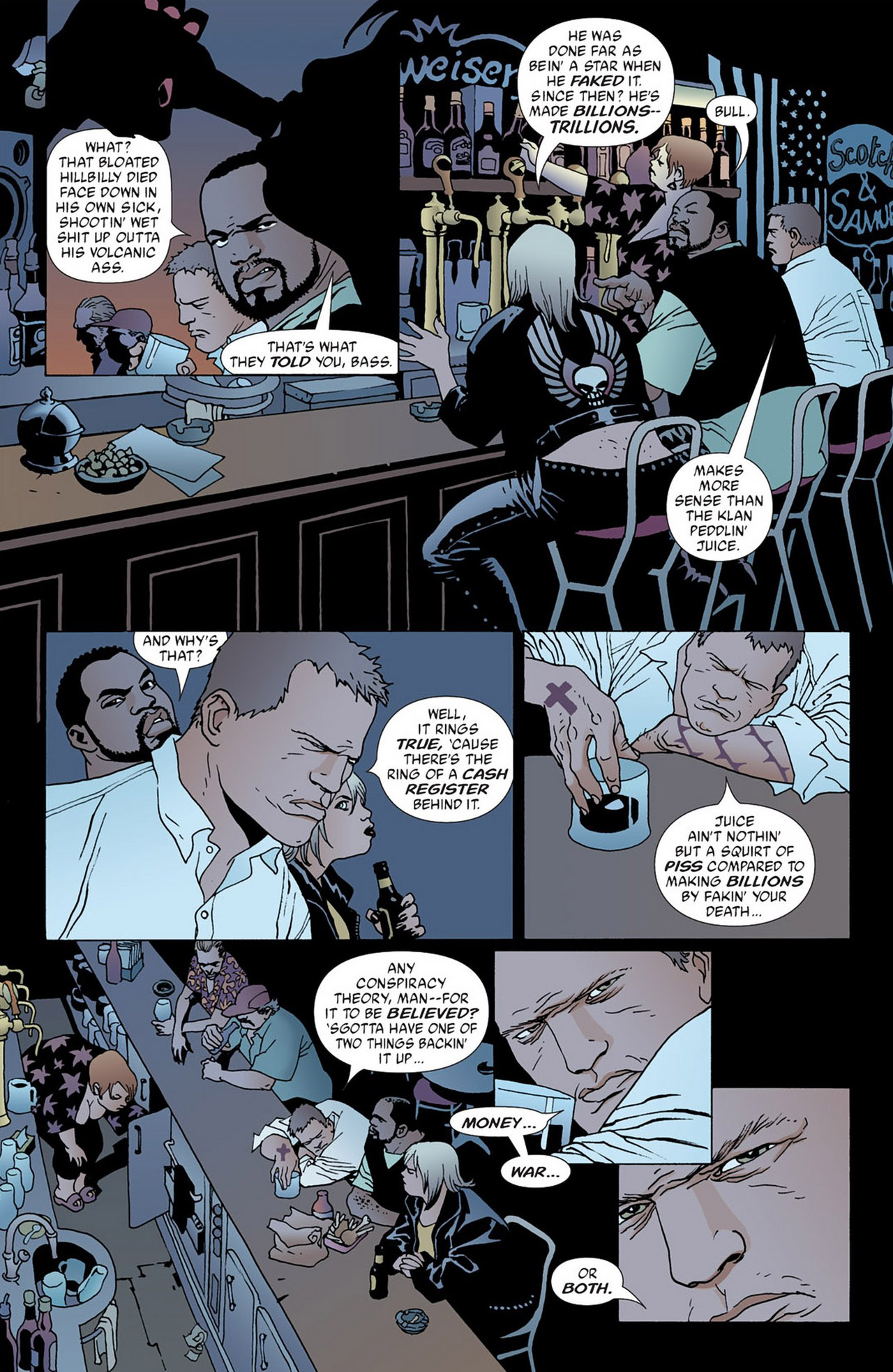 Read online 100 Bullets comic -  Issue #50 - 6