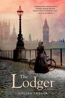 Cover art for The Lodger by Louisa Treger