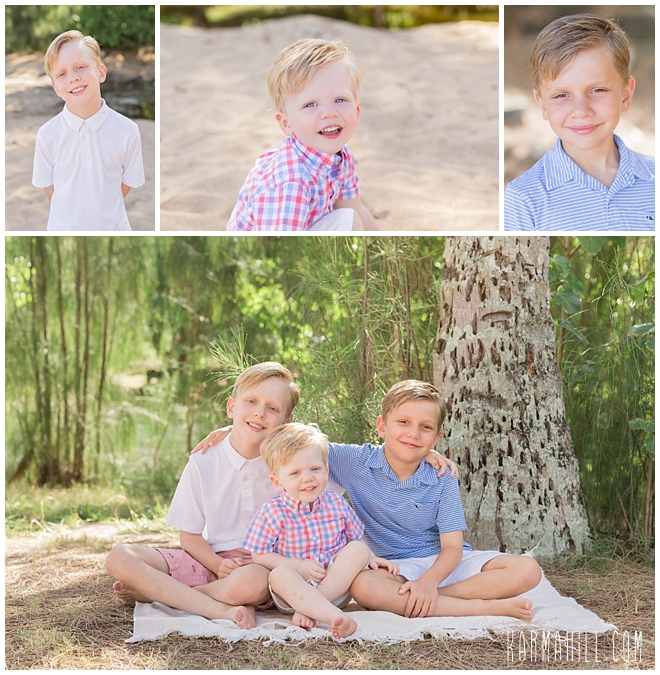 Kapalua maui family portrait photography