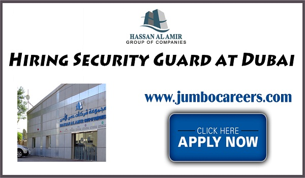Show down all new vacancies in Gulf countries with benefits, security guard jobs with salary,
