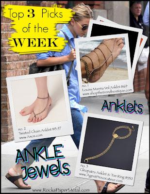 pulseras tobilleras, manualidades, anklet jewelry, bisutería