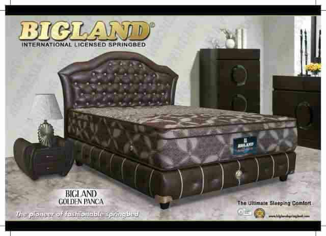 Harga Spring Bed Bigland Golden Panca Matras Paling Tinggi