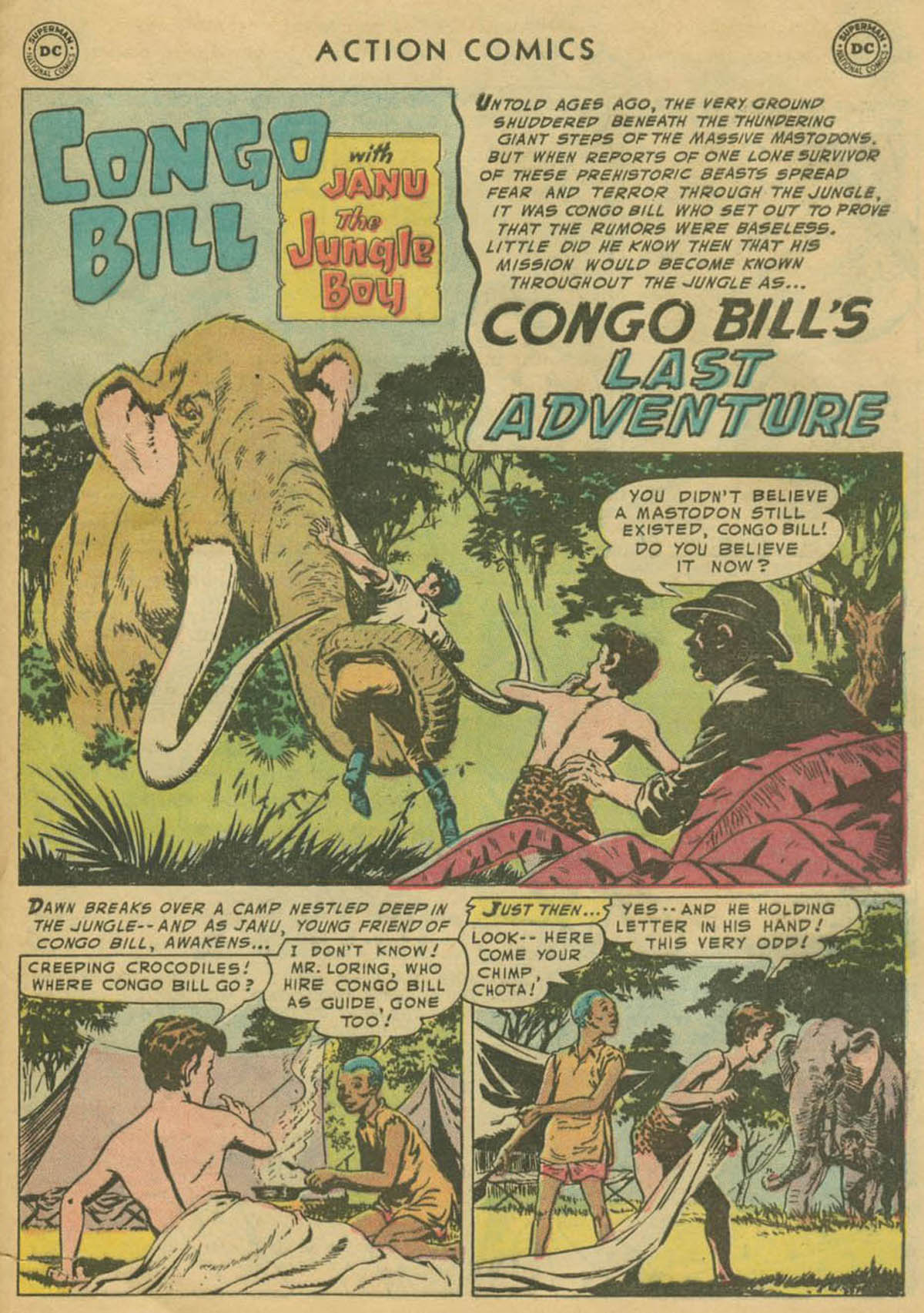 Read online Action Comics (1938) comic -  Issue #208 - 26