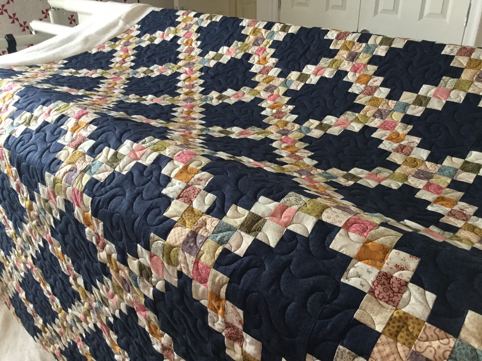 Fabadashery Longarm Quilting Traditional Triple Irish
