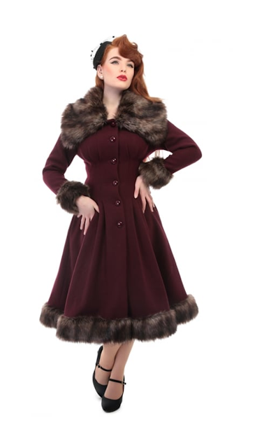 Collectif Vintage Pearl Coat
