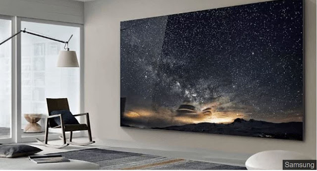 The Wall - Η γιγαντιαία Samsung TV των 219 ιντσών!