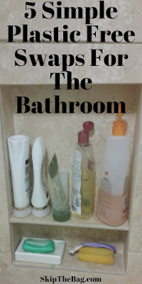 Easy ways to ditch plastic in the bathroom, from washing your hair, shaving, and personal hygiene