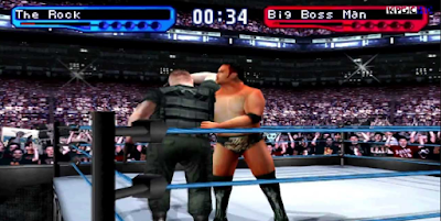 WWF SmackDown 2 Know Your Role PS1 ISO Android