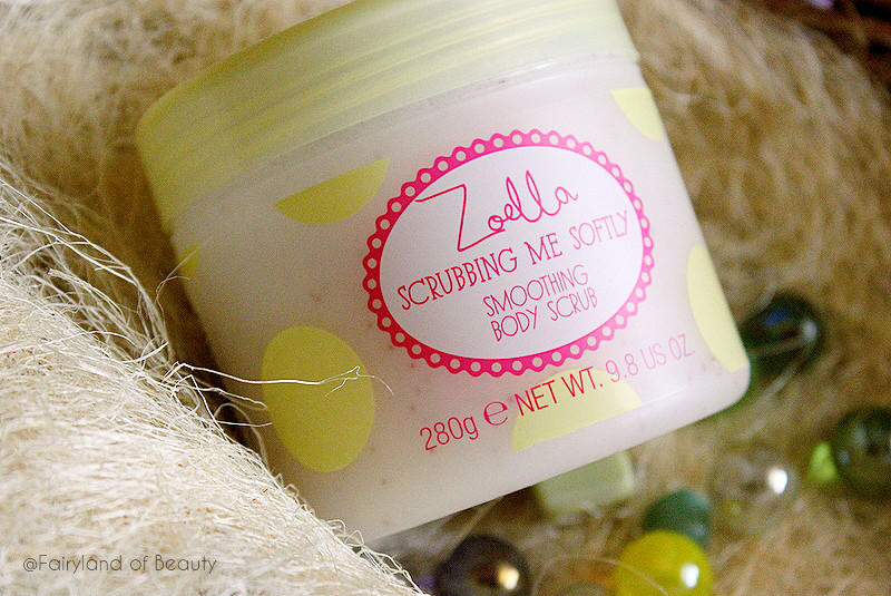 Отзыв: «Сахарный» скраб для тела Tutti Fruity от Zoella Beauty.