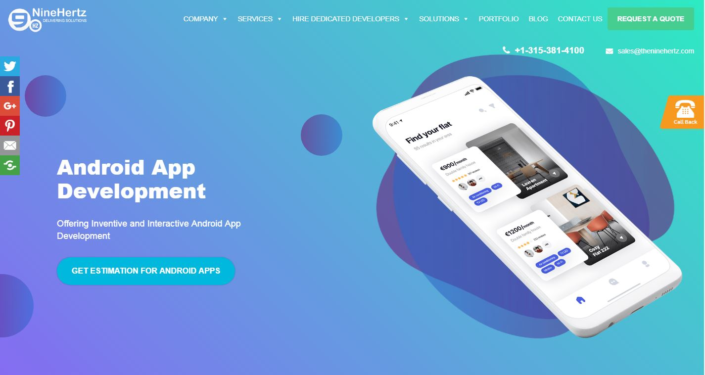 Top 10 Android App Development Companies list 2019 ~ The