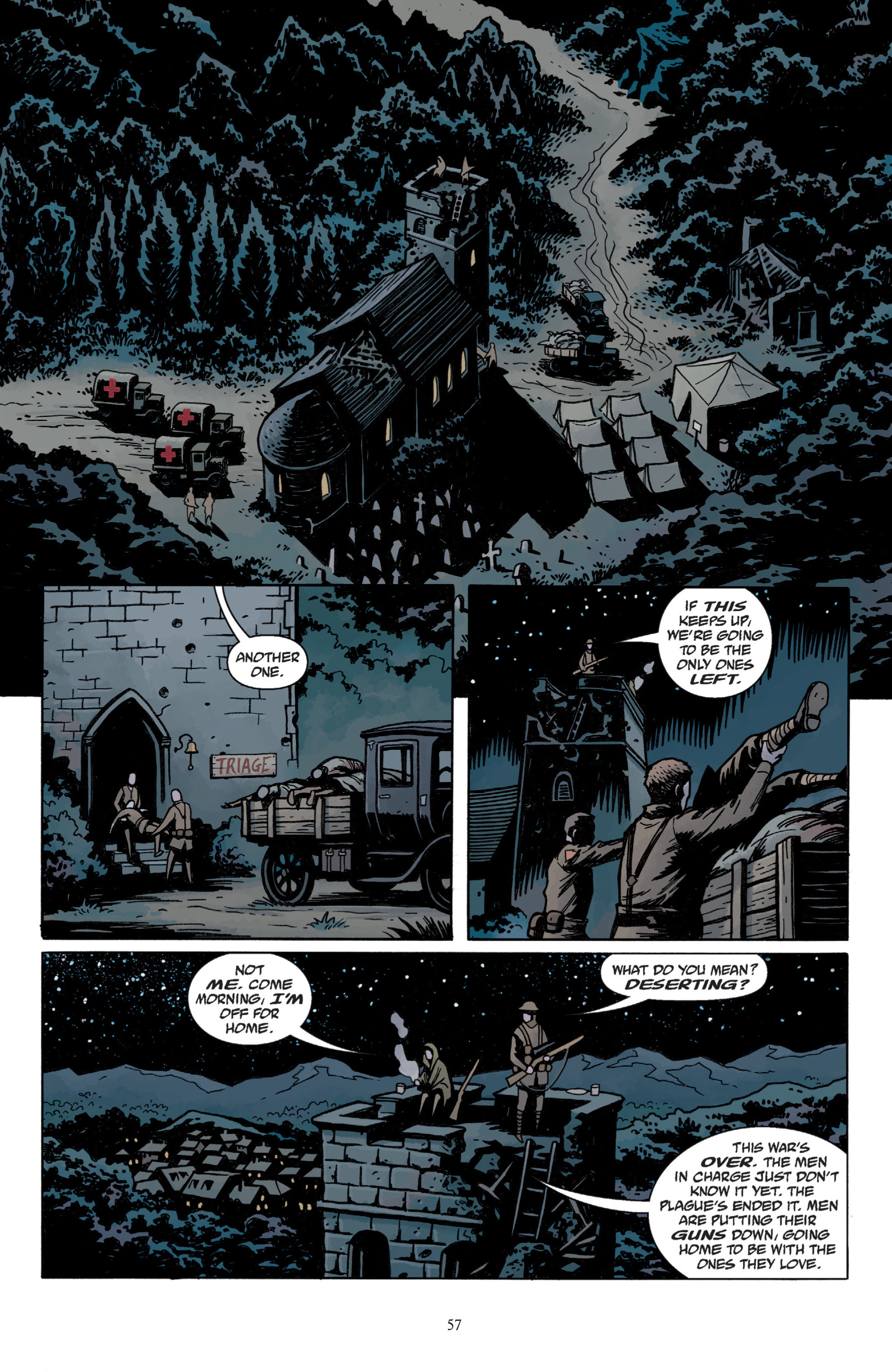 Read online Baltimore: The Plague Ships comic -  Issue # TPB - 59