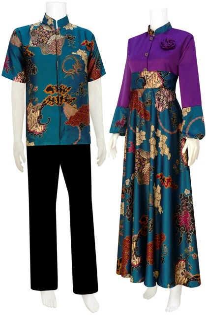 Batik Bagoes Solo Model Baju Gamis Semi Sutera