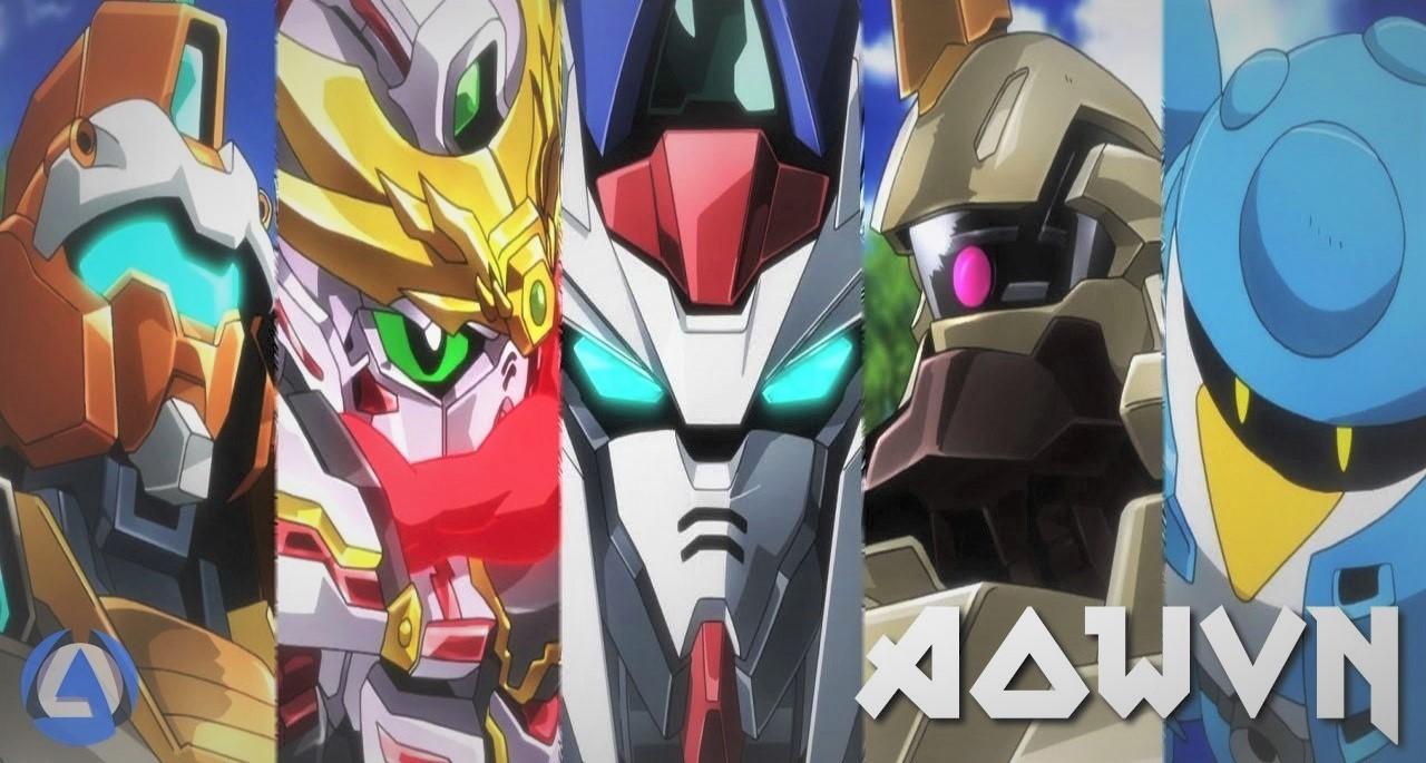 maxresdefault%2B%25282%2529 - [ Anime 3gp Mp4 ] Gundam Build Divers | Vietsub