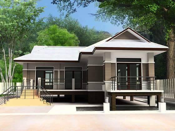 house plans for elevated homes.  Mga Bahay na Nakaangat at Proteksyon sa Baha 30 Elevated Houses For Flood Prone Areas