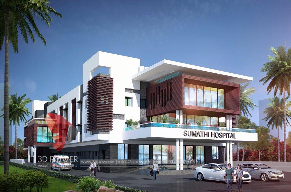 Modern Hospital Architecture Hospital Healthcare Design
