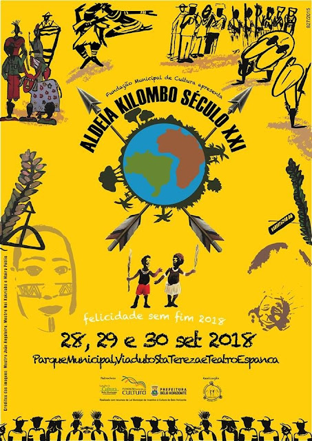 O Aldeia Kilombo século XXI encontro de arte e cultura de matriz africana e indígena