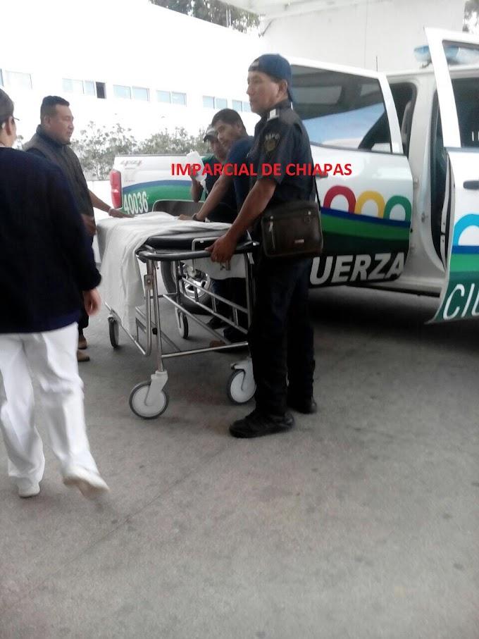 Dos lesionados de bala tras enfrentamiento en Chenalho.