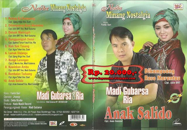 Madi Gubarsa & Ria - Anak Salido (Album Nada Minang Nostalgia)