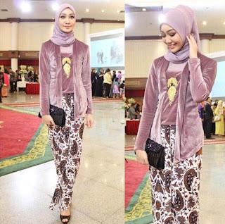 model kebaya kutu baru hijab bahan sutra